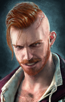 Yet another portrait - Olgierd von Everec (Witcher)