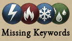 FG Missing Keywords