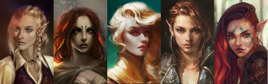 MQ Portraits Pack