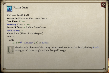Extended Spell Collection at Pillars of Eternity 2: Deadfire Nexus
