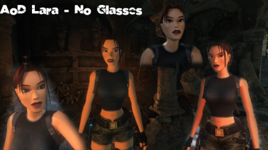 AoD Lara without glasses