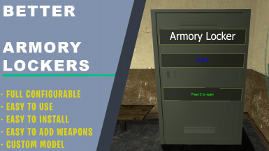 Better Armory Lockers