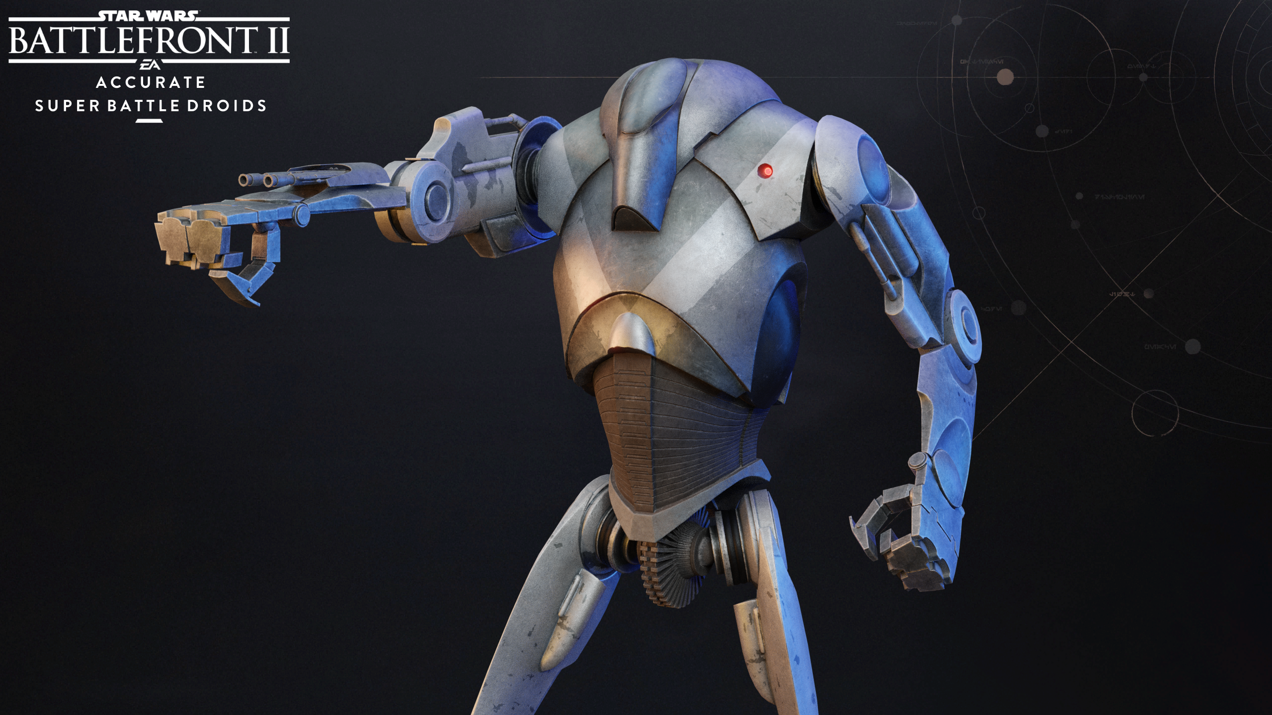 Accurate Super Battle Droids Updated At Star Wars Battlefront Ii 2017 Nexus Mods And Community