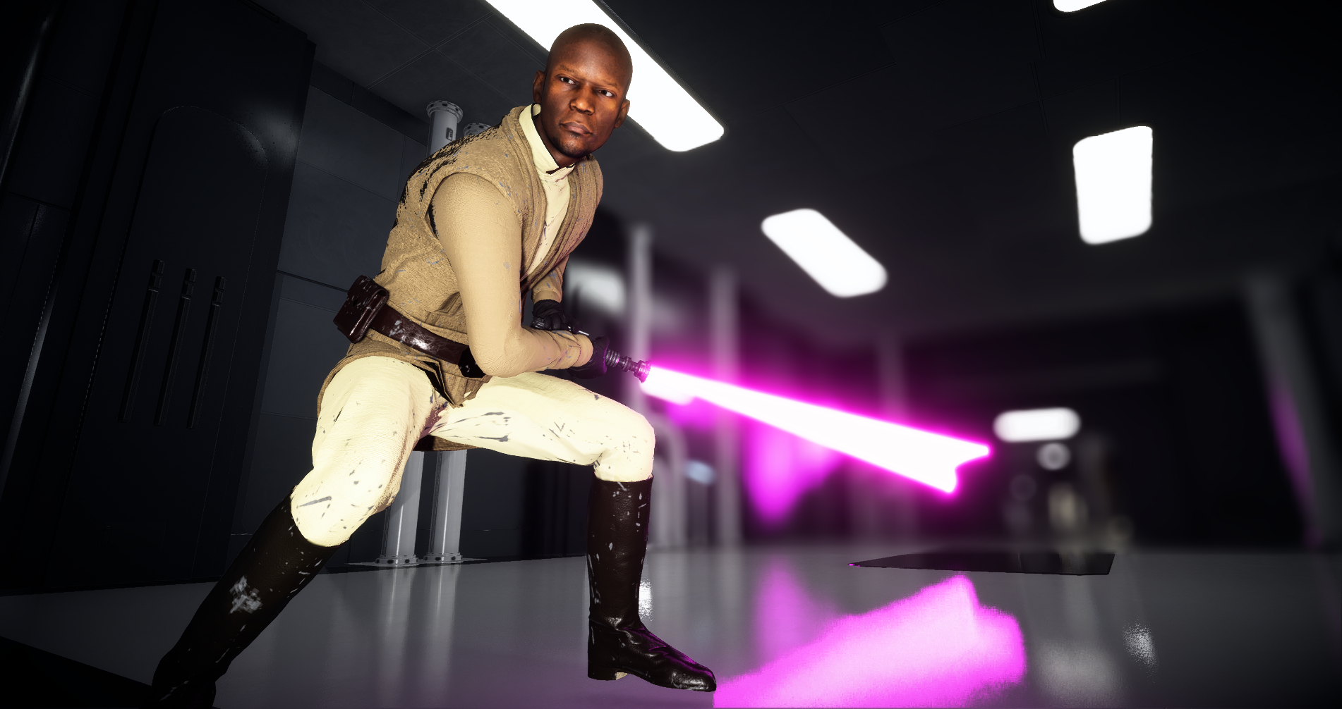 Craige99s Mace Windu At Star Wars Battlefront Ii 2017 Nexus