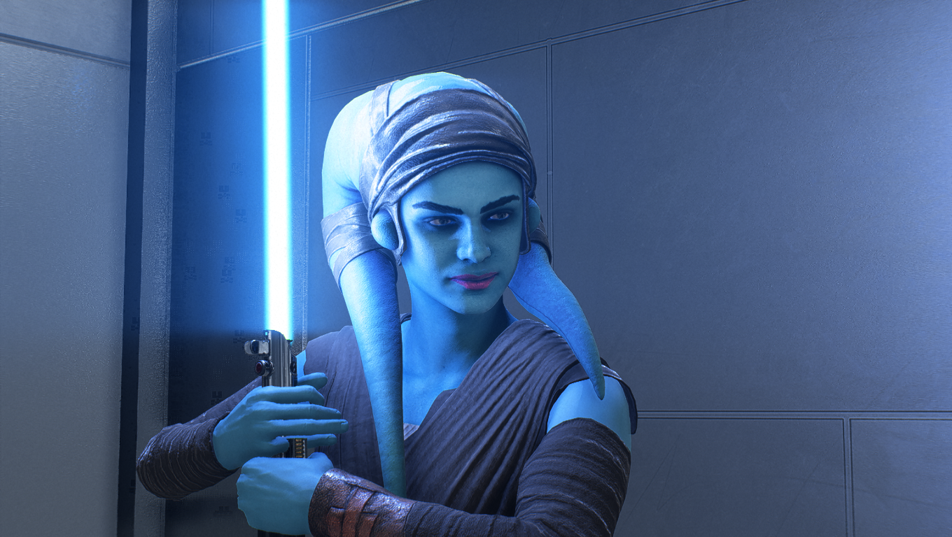 Aayla Secura at Star Wars: Battlefront II (2017) Nexus