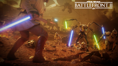 Battle Of Geonosis Loading Screen