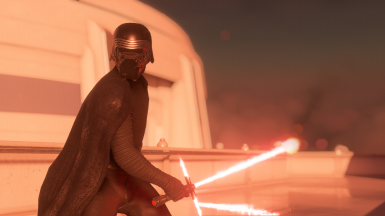 Episode 8 Kylo with Helmet