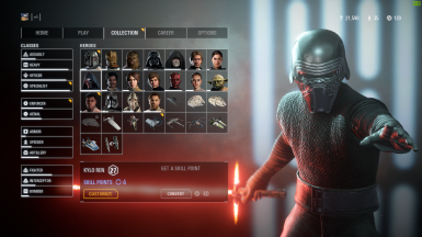 Kylo Ren Without A hood and a cape