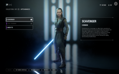 Rey TLJ for Rey scavenger