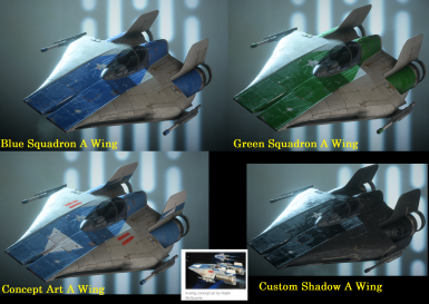 A Wing Mod Pack