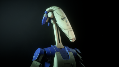 Blue Specialist Droid