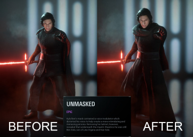 Kylo Ren - Accurate Skins
