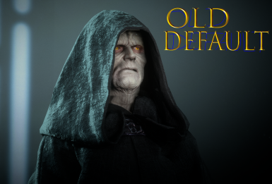 Palpatine Face Color and Cape