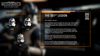 Ortho's 4K Clone Legions at Star Wars: Battlefront II (2017