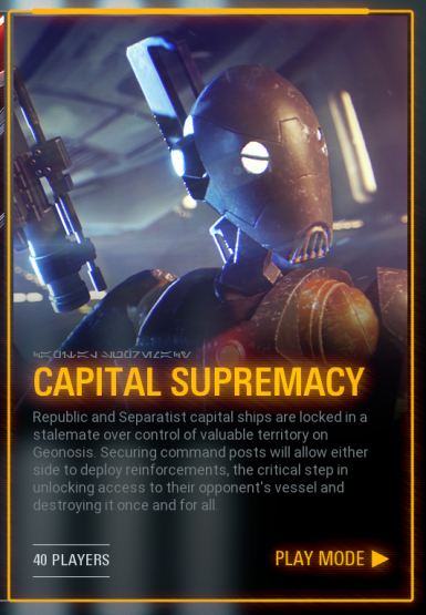 Capital Supremacy Play Menu Tile