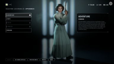 Sly's Princess Leia Replacer