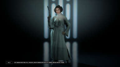 Sly's Princess Leia Replacer Mod