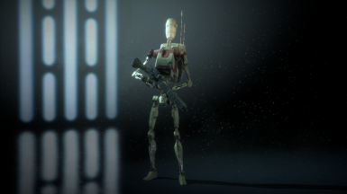 Heavy security droid