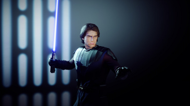 General Skywalker Short Hair replacer