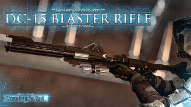 Movie Accurate DC-15 Blaster Rifle