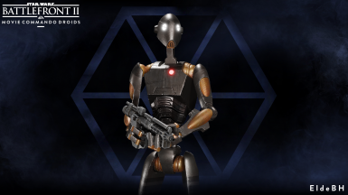Elde's Movie Commando Droids.