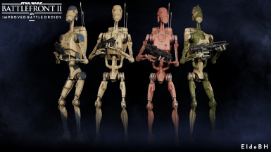 Elde's Improved Battle Droids (Outdated)