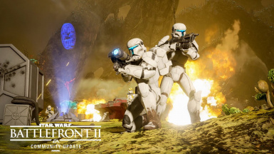 Clone Commando and Droideka Ai for Instant Action