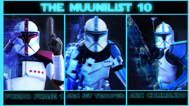 The Muunilist 10 and The Red Mist