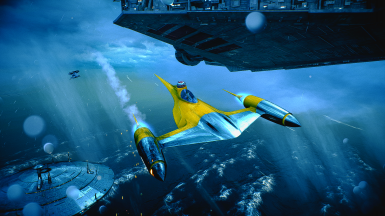 ARC-170 to N-1 Starfighter (Not MP compatible)