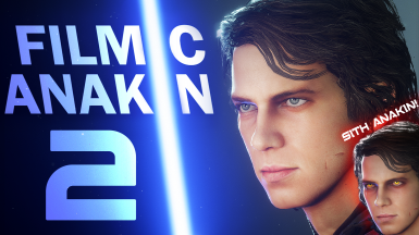 Filmic Anakin 2 - Hayden Christensen Face - HD Outfits - Optional Sith Eyes - Scarif Update