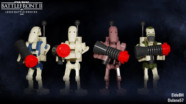 LEGO Battle Droids (Updated)