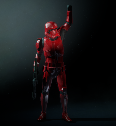 Turn Iden Into Sith Trooper