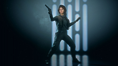 Jyn Erso with Jedha variation