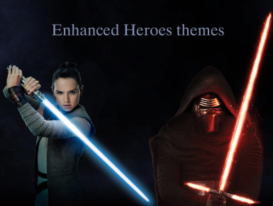 Enhanced Heroes themes - Duel of Fates update