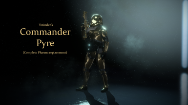 Commander Pyre (Complete Phasma replacement)