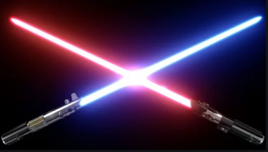 Real lightsabers sounds