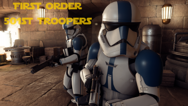 First Order 501st Troopers