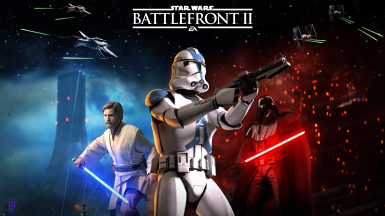 Battlefront 2005 Cover Recreation With Modern (2017) Logo - Loading Screen
