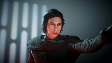 Kylo Ren Face Touch up
