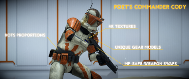 Poet's Commander Cody