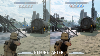 Scarif Lighting Tweaks