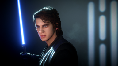 Anakin Face Touch up