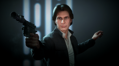 Han Solo Face Touch Up
