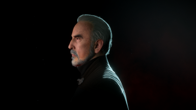 Count Dooku Face Touch up