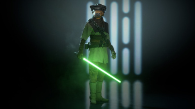 Leia skins for Luke and Rey
