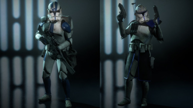 Compatibility for Poet's Captain Rex and Ortho's 4K Clone Legions