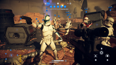 AI clones with Phase 1 ranks 212th var. - With AOTC Overhaul by Caleb2432 and SmugChewbacca