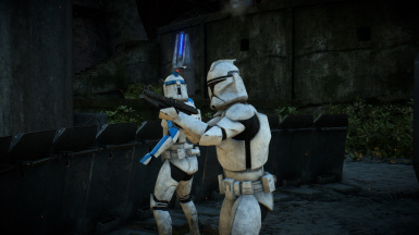 AI clones with Phase 1 ranks 212th var. - With Matte Clone Legion and AOTC Overhaul by Caleb2432 and SmugChewbacca