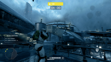 Clone Commando Crosshair and Heatbar changes