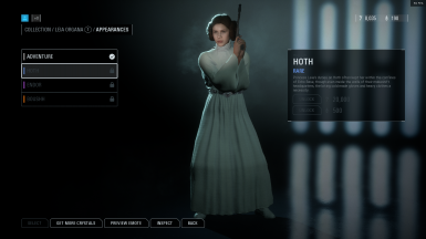 Leia Hoth skin as Princess